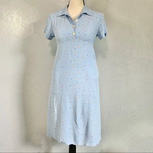 Vintage 90s (M) Babydoll Floral Casual Dress